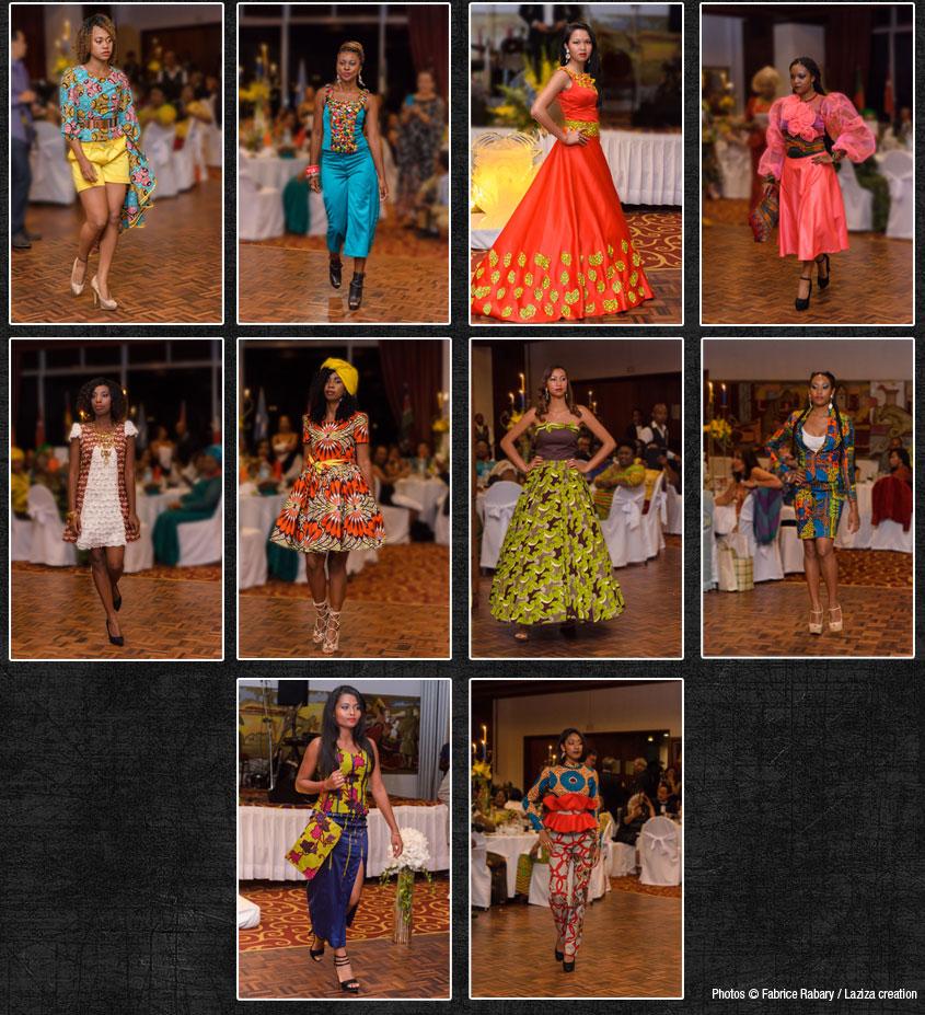 Défilé de mode africain